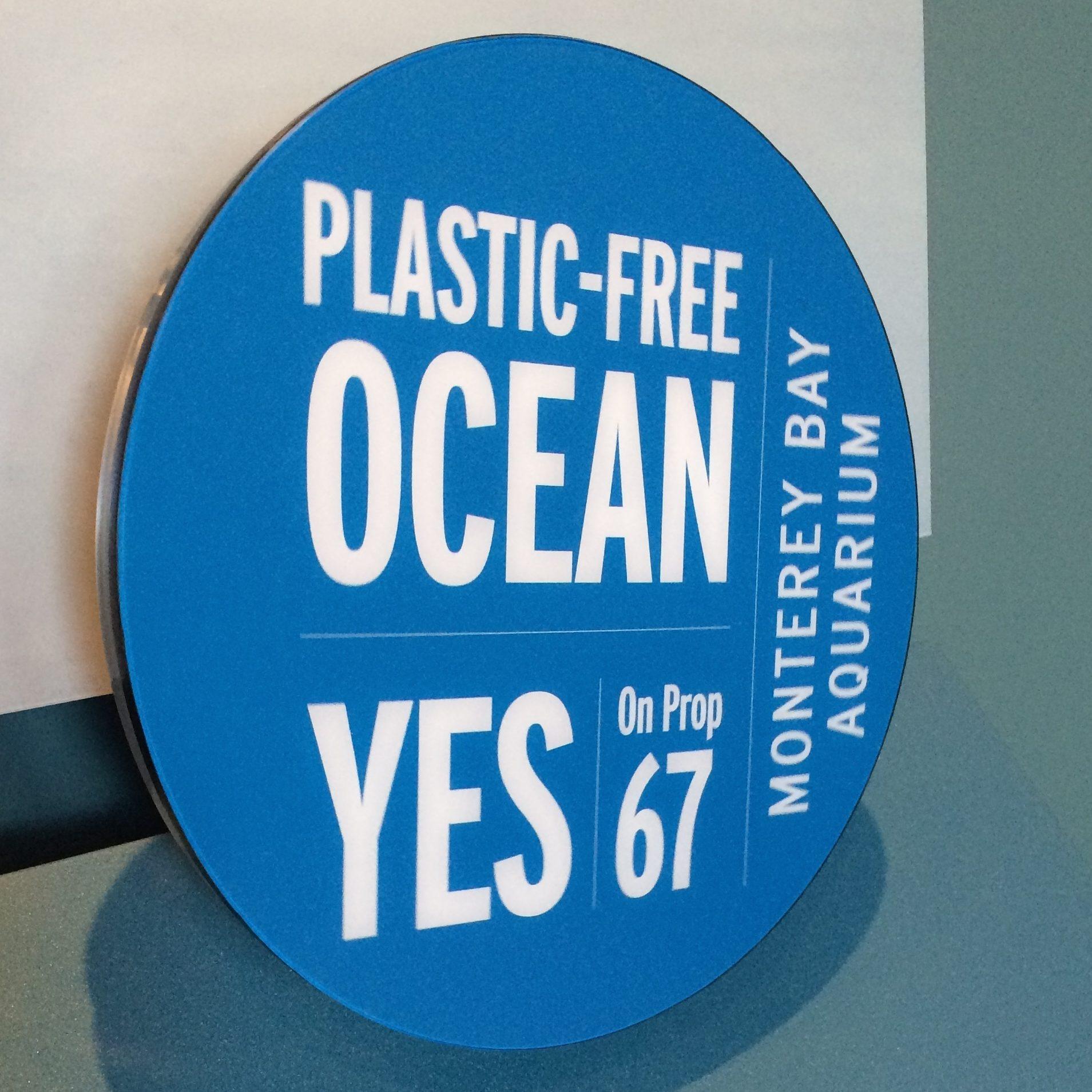 Battle of the bags at Monterey Bay Aquarium